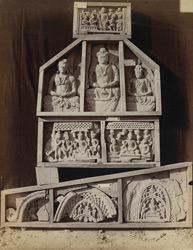 Miscellaneous Buddhist sculptures from Mian Khan, Peshawar District 10031083
